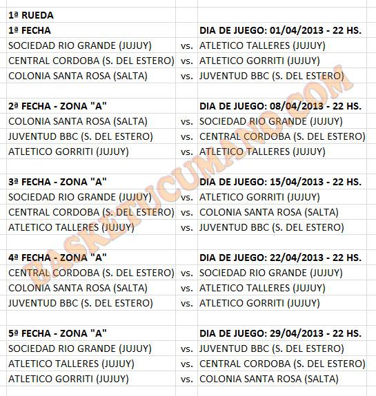 fixture-1era-rueda-liga-c-2013