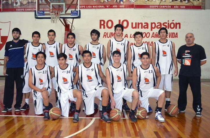 VENCEDOR. El U19 del Club Cicilista Olímpico de La Banda logró el primer puesto en el Torneo Regional