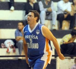 CONDUCCIÓN. Mariano Maldonado, base de Belgrano CyD.