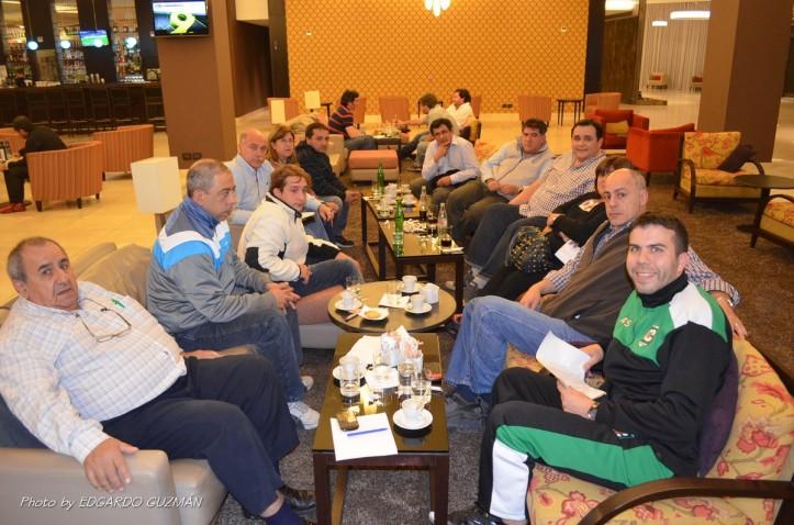 Federación y representantes de clubes se reunieron en un Hotel de la zona del Abasto.