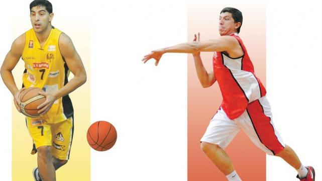 Jorge Enrique Fares (30 años, escolta, 1.85 m) y Jerónimo Pedro Solórzano (25, alero, 1.96) son jugadores esenciales en la media cancha de sus respectivos equipos.