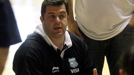 Cristian Santander, Entrenador de la Selección Argentina Femenina