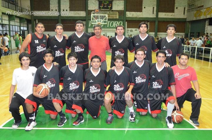 VILLA 20 DE FEBRERO, participante del Torneo Argentino de Clubes del NOA 2014