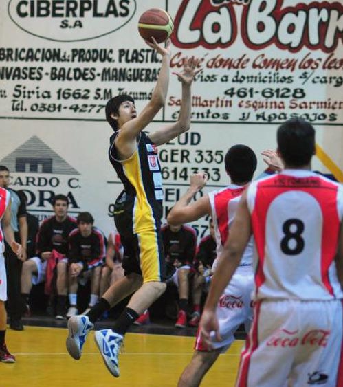 ENTRE LOS ELEGIDOS. Iván Gramajo viajará mañana con el equipo nacional. Foto LA GACETA