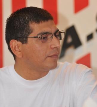 CONFIADO. Julio Heredia, el entrenador del seleccionado U15.