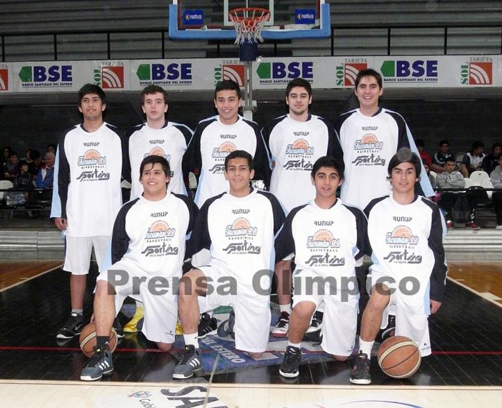 Foto del U19 de Tucumán BB. Foto gentileza Prensa del Club Olímpico