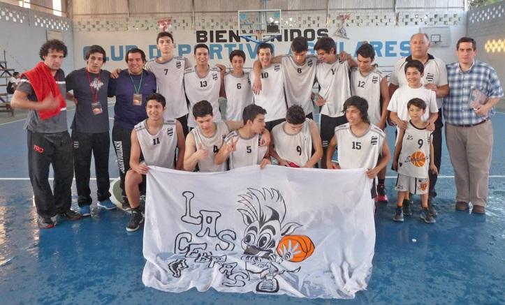 ESTUDIANTES U17. Foto gentileza Asociación de Basquetbol del Sur de Tucumán (A.B.S.T.)