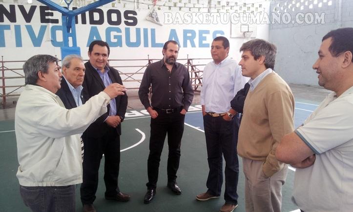 Luego del almuerzo, todos fueron a la cancha del club Deportivo Aguilares, donde se realiza la Final Four del #RegionalU17NOA