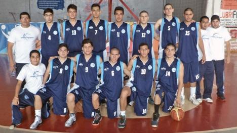 Selección Tucumana U17. Foto gentileza Federación de Basquetbol de San Luis