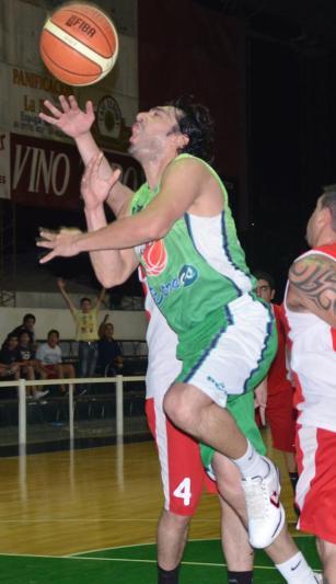 TAREA DESTACADA. Carlos Barros, de Asociación Mitre.