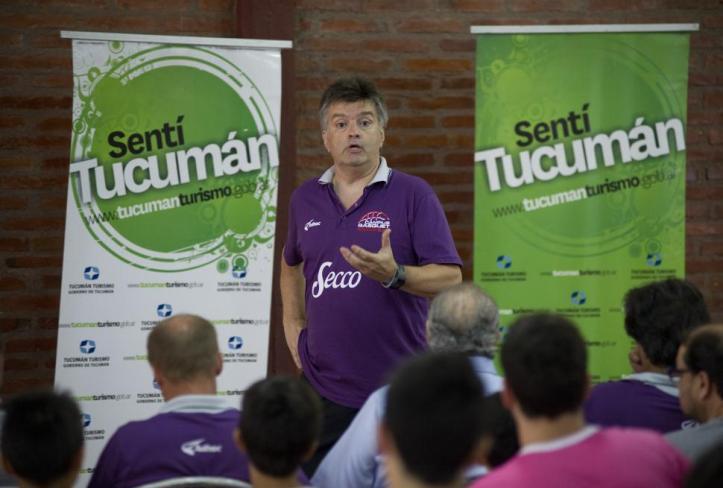 """Fernando Duró: """"la liga está en una transición"""". LA GACETA / FOTO DE JORGE OLMOS SGROSSO"""