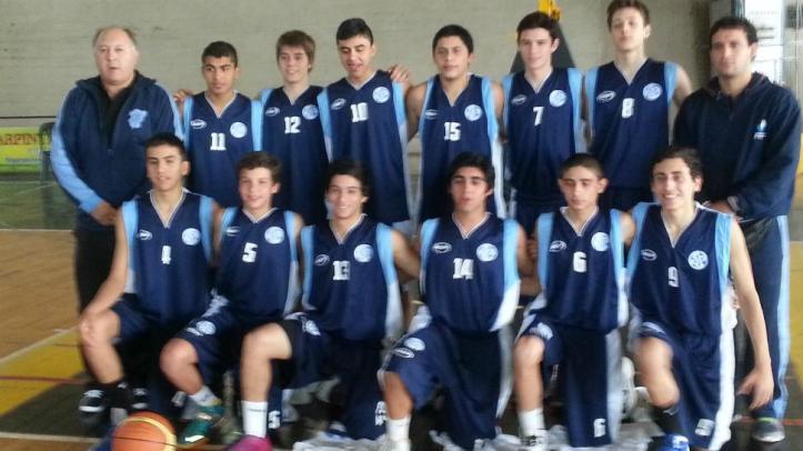 REVÉS Y REGRESO. El seleccionado tucumano U15, entre los ocho mejores del Argentino. FOTO GENTILEZA ENRIQUE RODRÍGUEZ