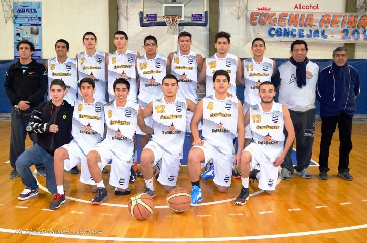 Foto: U19 del club Estudiantes.