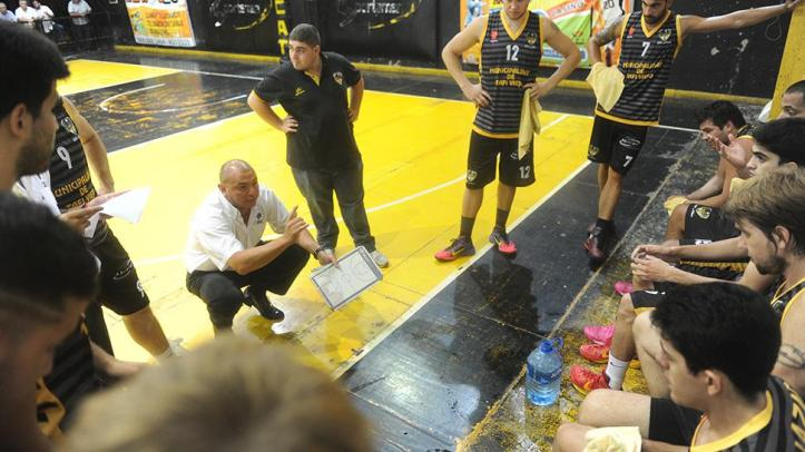 REPUNTE ANÍMICO. Mario Vildoza destacó que su equipo va con la moral alta a Goya.