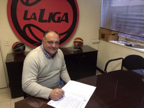 José Muruaga, presidente de Mitre. FOTO TOMADA DE PRENSA DE LA ASOCIACIÓN DE CLUBES